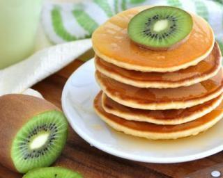 Pancakes végétaliens faciles…