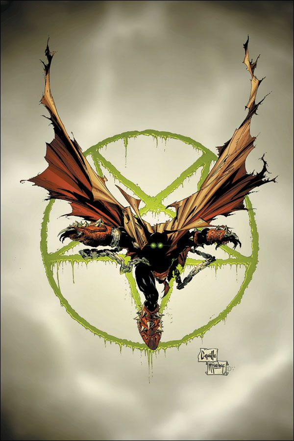Spawn #84. Art by Greg Capullo.