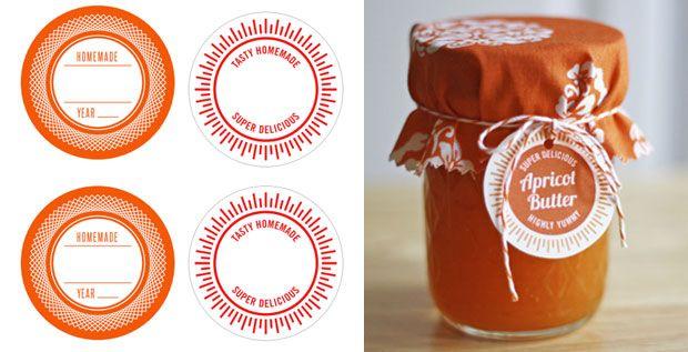 Etiquetas mermelada
