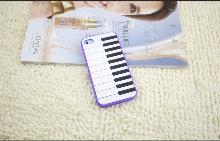 2012 New Arrival Hot Sale Cute Piano Key Pianoforte Design Soft TPU Back Case for iPhone 4 4G 4S 50pcs/lot Free Shipping