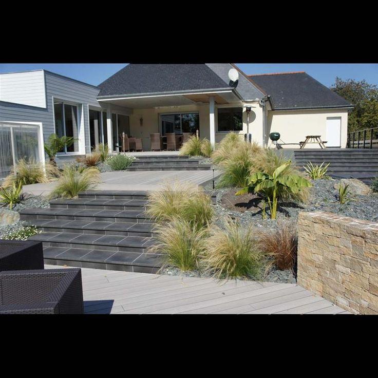 Jardin Acigné - Réalisations paysagiste Rennes - Paysagiste Conseil Rennes   EXTÉRIEURS A VIVRE . PAYSAGISTE CONSEIL