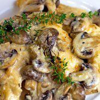 Mushroom Asiago Chicken – Best of 2013 – Number 11 | What2Cook