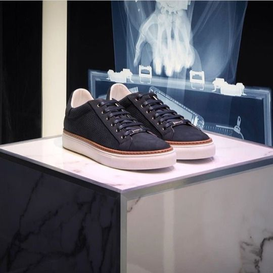 Corneliani suede sneakers.    Available at: https://www.incrocio.gr/en/sneakers/corneliani-sneakers.html    #corneliani #shoes #sneakers #fashion