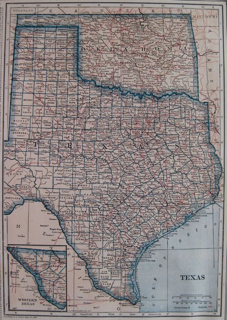 Map Usa States Abbreviations%0A      Antique TEXAS Map OKLAHOMA Map of Texas State Map of Oklahoma Gallery  Wall Art Plaindealing