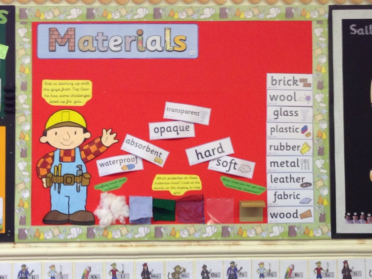 Science Classroom Decorations For Primary : Best images about topic marvellous materials on
