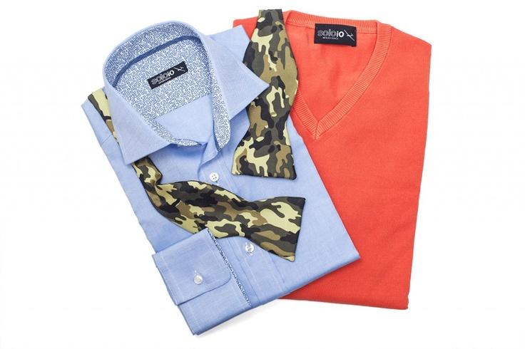 Camo look by SOLOiO #men #fashion  @soloiomoda www.soloio.com