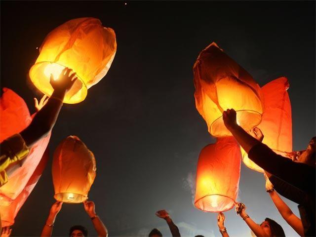 #Eco-Friendly #Diwali #Festival #India. Use #lanterns