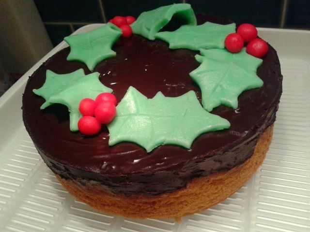 Tunis cake for Christmas