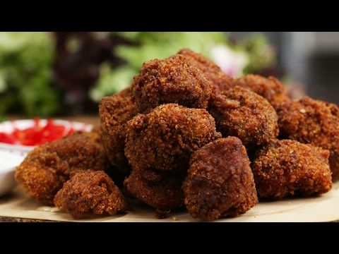 Popcorn Fried Chicken (Indian Style) - YouTube