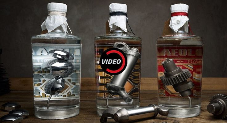 The World's First Gin To Contain Harley Davidson Engine Parts Costs Over A Grand