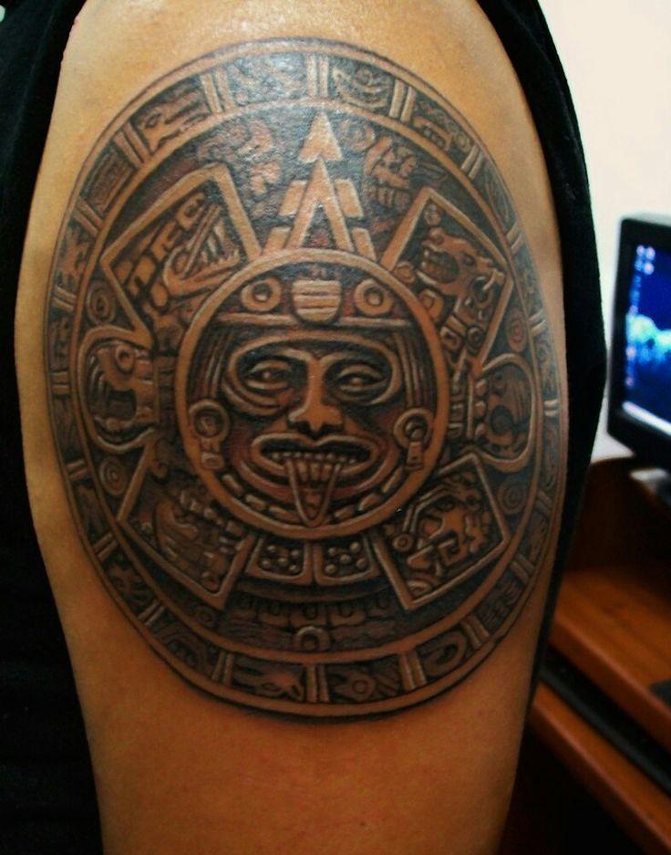 30 besten aztec tattoos designs bilder auf pinterest. Black Bedroom Furniture Sets. Home Design Ideas