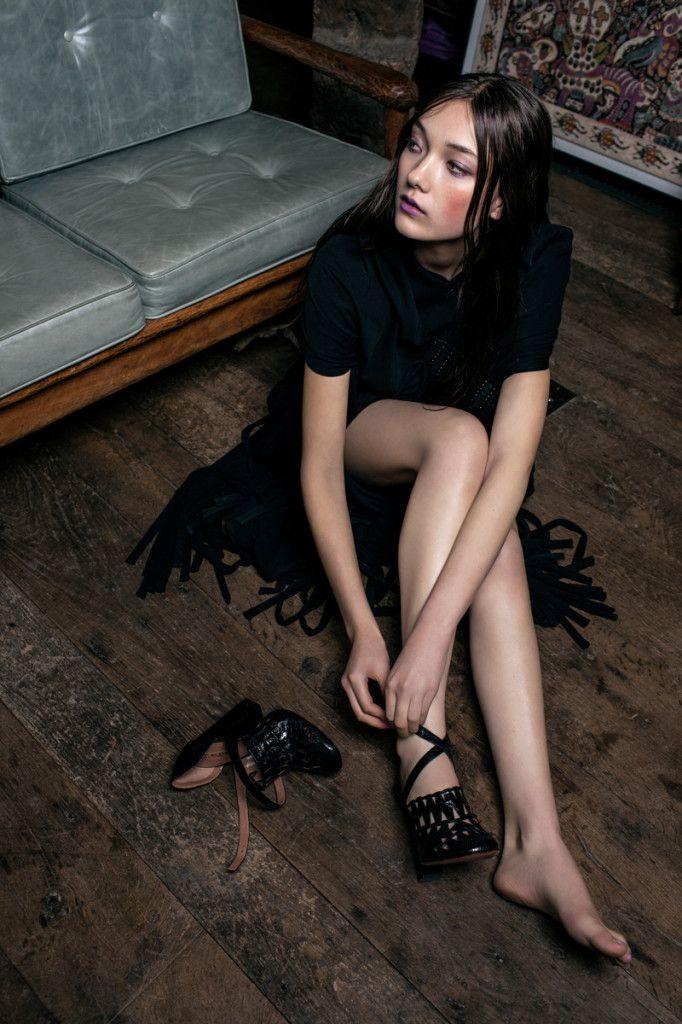 japanesemodel:  Yumi Lambert by Romain Staros Staropoli for Flaunt May 2014