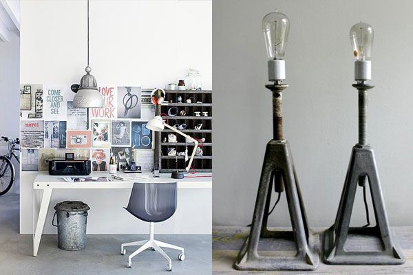 Diggin' the workspace and the lamps