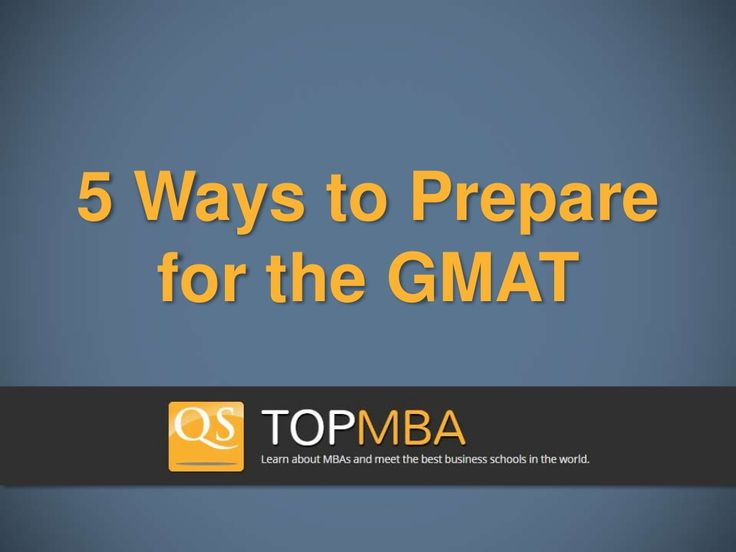 15 best empowergmat videos images on pinterest gmat study guide by mometrix test preparation 5 ways to prepare for the gmat by topmba via slideshare fandeluxe Image collections