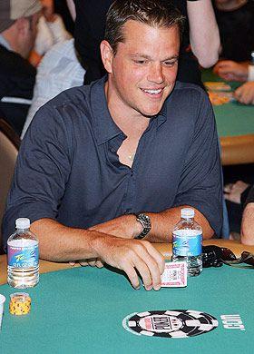 Matt Damon a Poker star - #Casinosonline