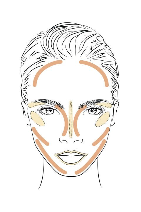 YSL Beauty has created what can only be described as the most genius guide to contouring, using Cara Delevingne's face. Here is the complete guide with a few of BAZAAR's favorite products added in.