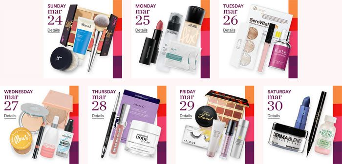 Sale Information: Ulta Magnificence 21 Days of Magnificence 2019 Breakdown