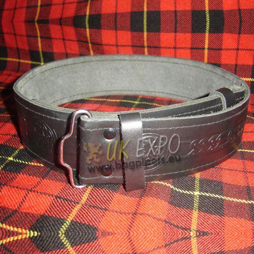 Kilt Belt Embossed without backing | Belts for Kilt /Drummers/Pipers