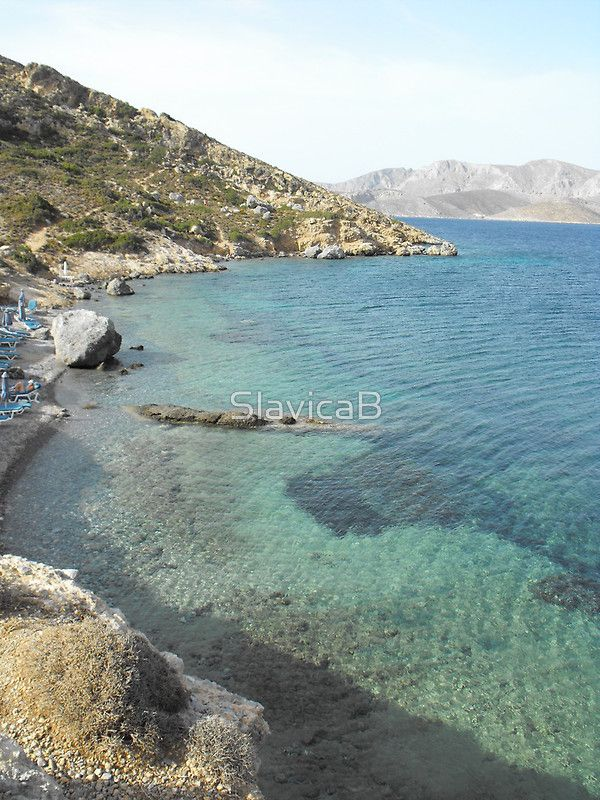 Kalymnos Greek Island Sea shore