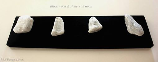 Natural Stone Wall Hooks