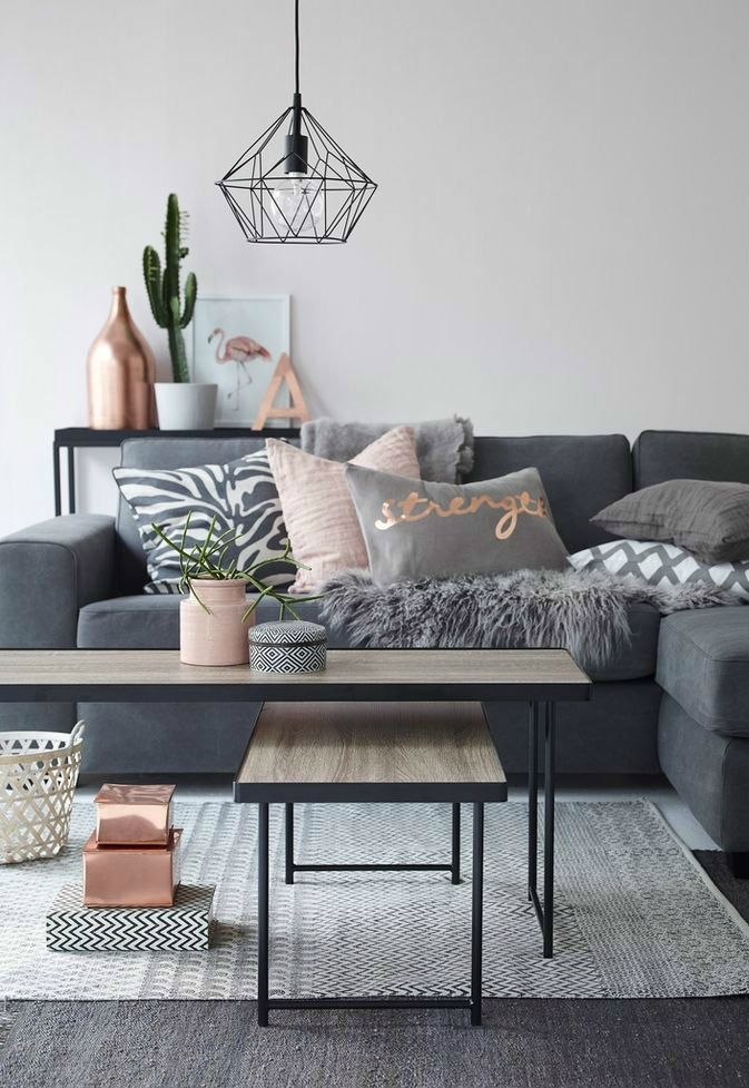 Best 25+ Blush grey copper living room ideas on Pinterest - gray and gold living room