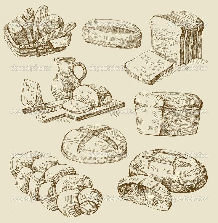 bread illustration - Google Search