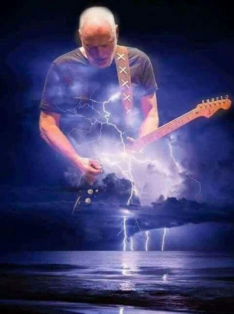 David Gilmour, still going strong