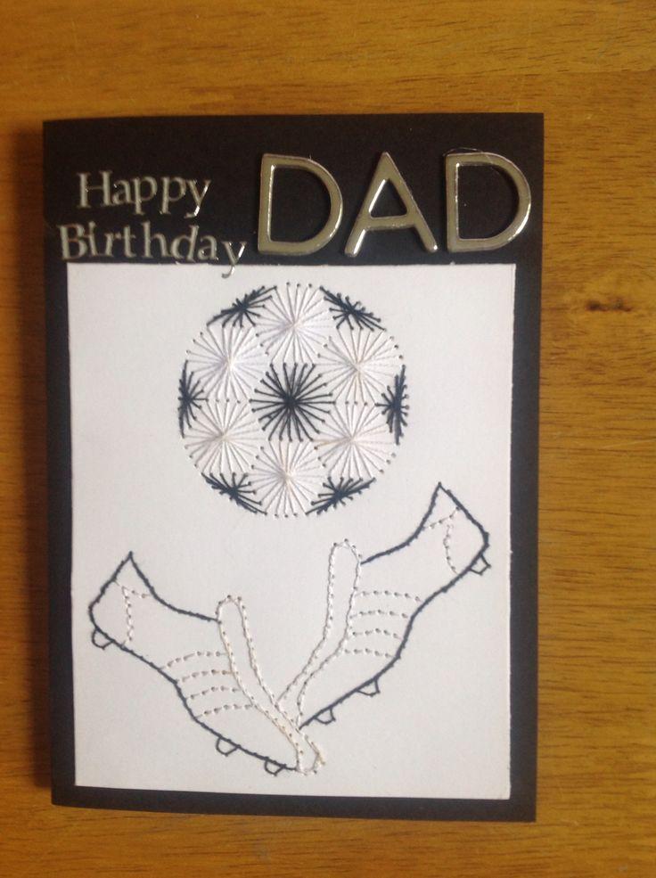 Stitching card