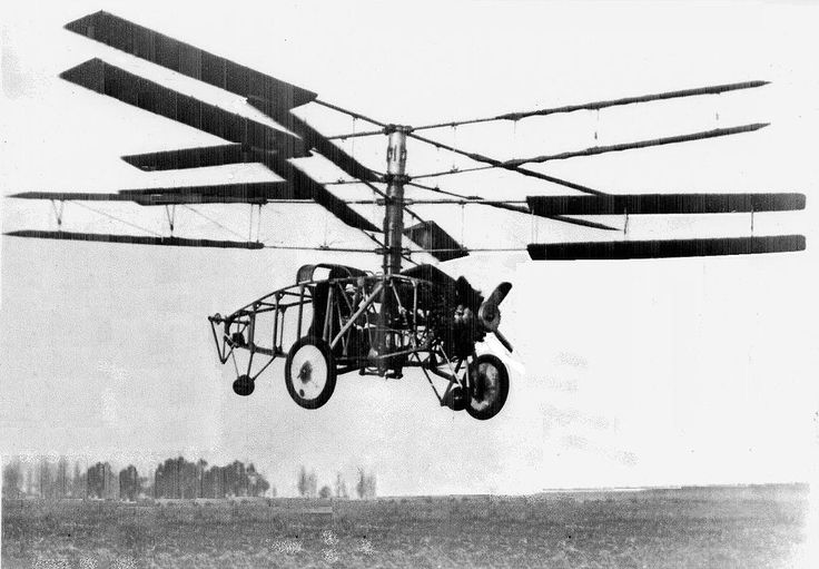Pescara Model 3 Helicopter (1923)