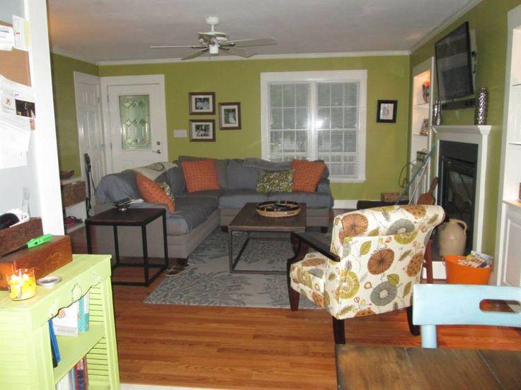 Living Room Valspars New Avocado