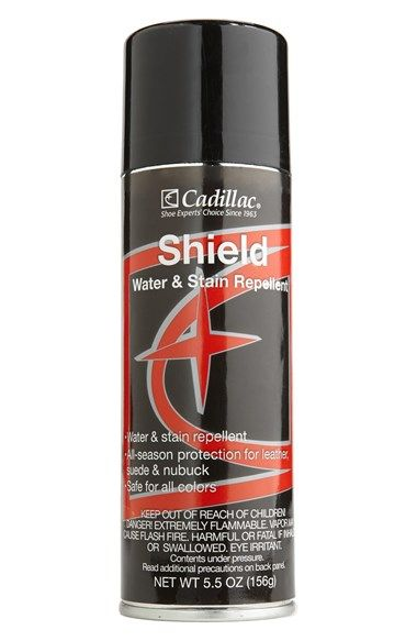 Free shipping and returns on Macpherson Leather Cadillac Leather Shield Spray at Nordstrom.com. All-season protection for leather, suede and nubuck provides a water- and stain-repellent shield for your most treasured shoes, boots and apparel.