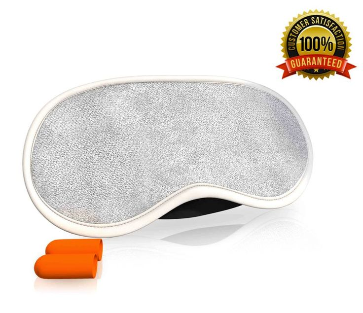 DOUBLE CLICK ON ANY IMAGE FOR DETAILS - #1 Sleeping Eye Mask - Sleep Well(TM) Luxury Satin Eyemask with Ear Plugs Beauty Set from Fortune Bliss(TM) UK On Sale - Best Cute Dream Masks with Reduce Noise Earplugs for Day,Night,Go Travel / Perfect for Men,Women,Children,Girls,Kids in Grey Cotton [front] and Black Silk [back]+eBook