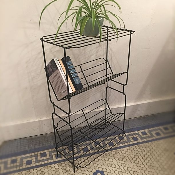 vintage midcentury bookcase in click on link for all info