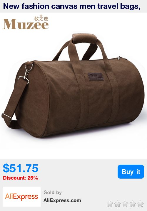 New fashion canvas men travel bags, men handbag large size travel bag with one shoulder belt, luggage outdoor big bags for men * Pub Date: 04:11 Apr 5 2017