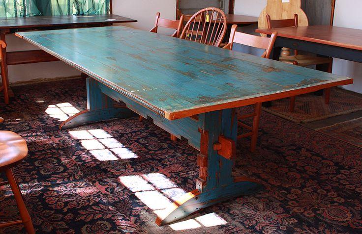 Wood Dining Tables West Barnstable Tables Farmhouse