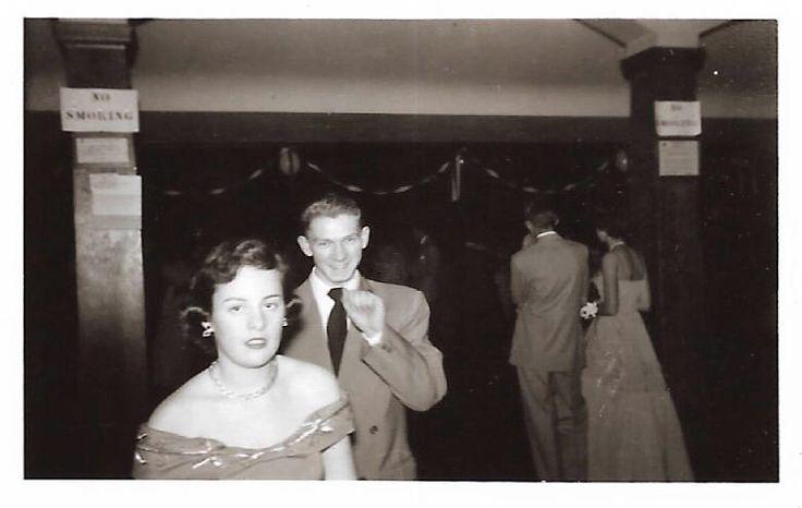 "Vintage Snapshot ""Senior Prom"" Teenage Girl Boy Double-Breasted Suit Prom Dress Found Vernacular Photo by SunshineVintagePhoto on Etsy https://www.etsy.com/listing/560896145/vintage-snapshot-senior-prom-teenage"