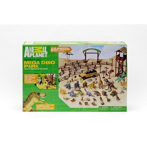 Animal Planet Mega Dino Park Playset by Animal Planet. $35.99. A great set for children 3 or older. The Mega Dino Park Set. The Largest Dinosaur Set from Animal Planet with 85 Pieces. Includes everything shown. Animal Planet Mega Dino Park Playset. Save 10% Off!