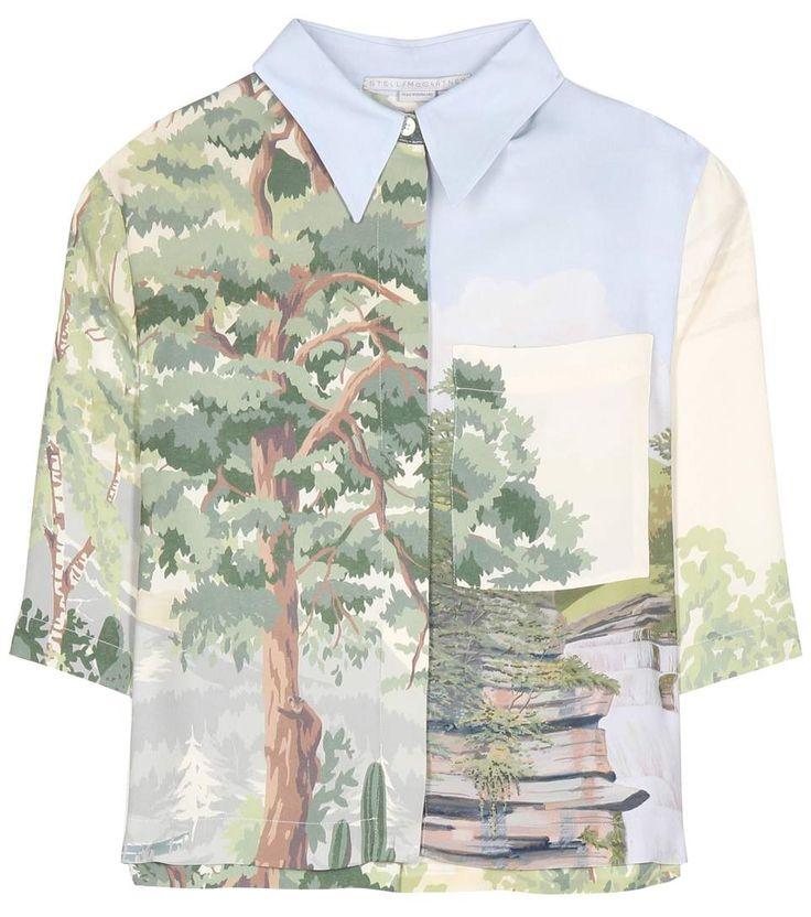 STELLA MCCARTNEY Aspen printed top. #stellamccartney #cloth #current week
