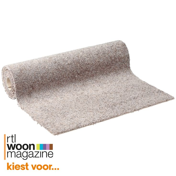 Hoogpolig taupe tapijt. Rolbreedte 400 cm. Ook trapgeschikt in combinatie met ondertapijt. #tapijt #vloer #vloerbedekking #kwantum