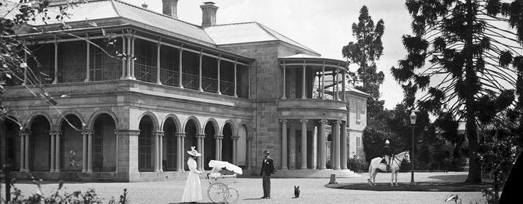 Old government house in brisbane.   http://www.ogh.qut.edu.au/