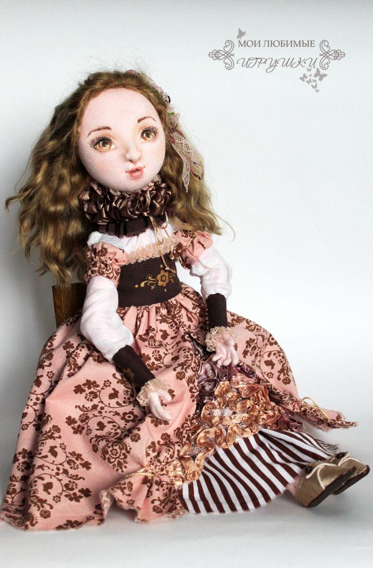 Авторские куклы Анны Балябиной. Блог Мои любимые игрушки: Новое платье Изабеллы