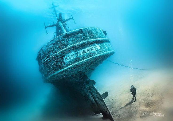 7 najbardziej fotogenicznych miejsc do nurkowania na świecie. Pokazuje Irena Stangierska - wybitna nurek-fotograf