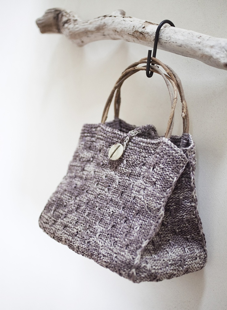 knit bag..darlene hayes