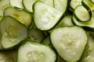 This Momofuku Kirby cucumber pickle recipe from David Chang contains Kirby cucumbers, salt, and sugar.