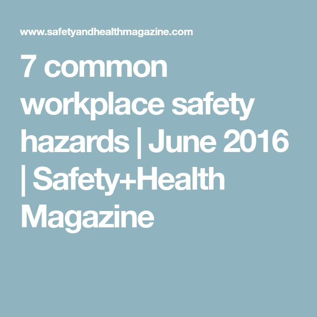 The  Best Workplace Safety Ideas On   Workplace