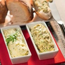 Rucola-Butter: Rucolablätter in den Tupper®-Turbo-Chef...