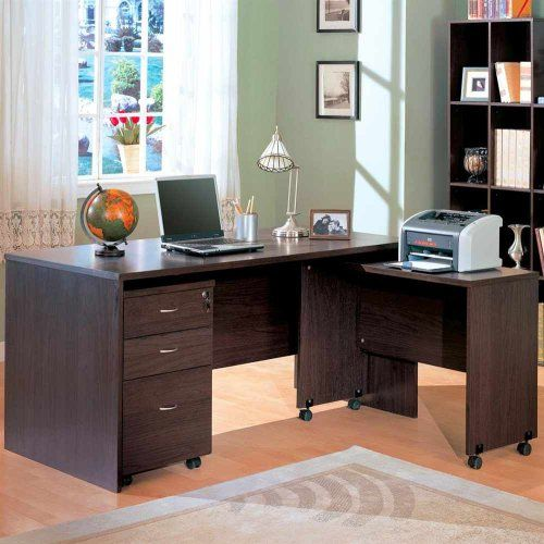 231 l shaped contemporary home office writing desk with return coaster home furnishings http amazoncom coaster shape home office