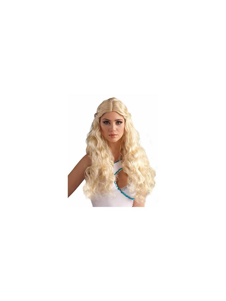 blonde goddess wig womens halloween wigs accessories - Halloween Costumes With Blonde Wig