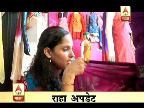 How to Drape Nauvari Saree - YouTube