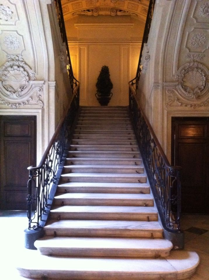 Juvarra F_scala forbice_palazzo reale